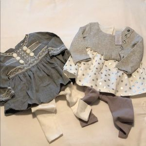 Two Tahari Baby Outfits size 3-6M